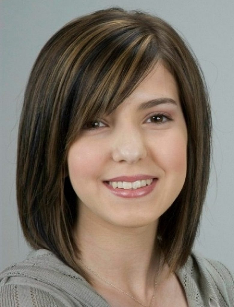 Medium Haircut For Round Asian Faces Women Hairstyle : Asian Inside in The best Short Hair For Asian Round Face