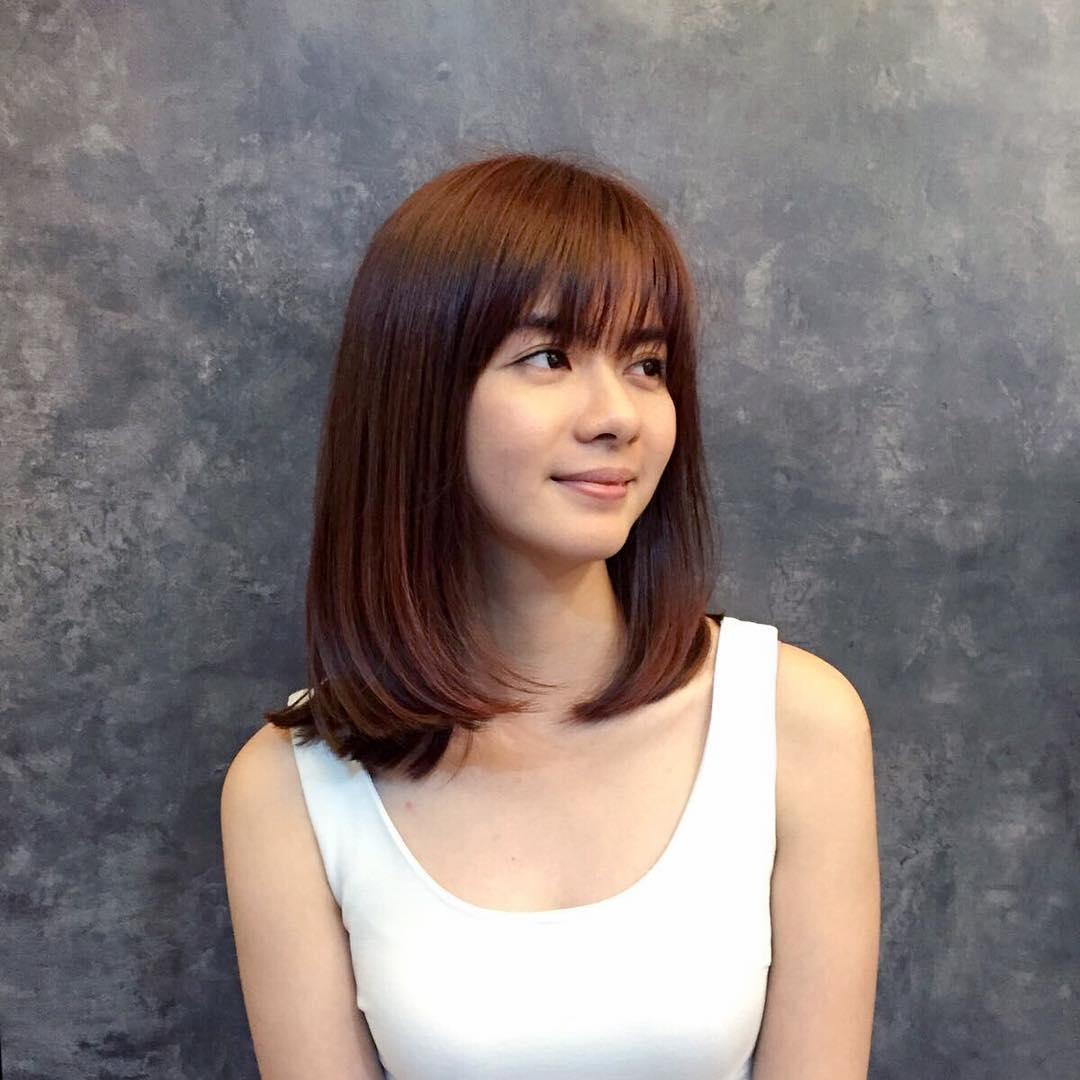 Medium-Length-Bob Hairstyle For Asian Girls 2017 | Styles Weekly for The best Asian Girl Hairstyles 2017