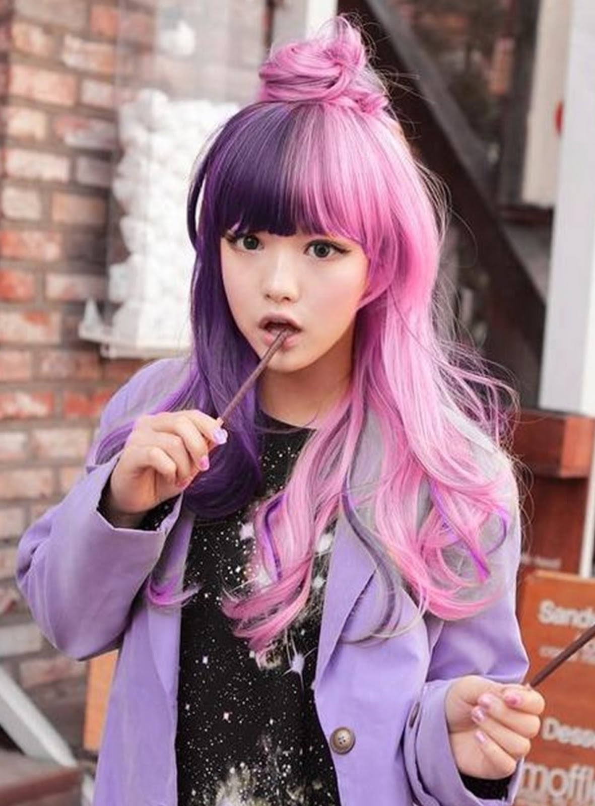 New Hairstyle Hairpunk: Fashions Harajuku Asian Girls Long Hairstyle intended for Asian Girl Long Hairstyles