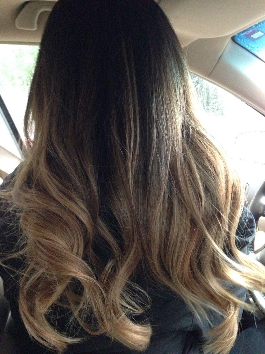 Ombré/balayage Ash Blonde On Asian Hair :) | New Hair Ideas | Hair with Asian Hair With Blonde Highlights