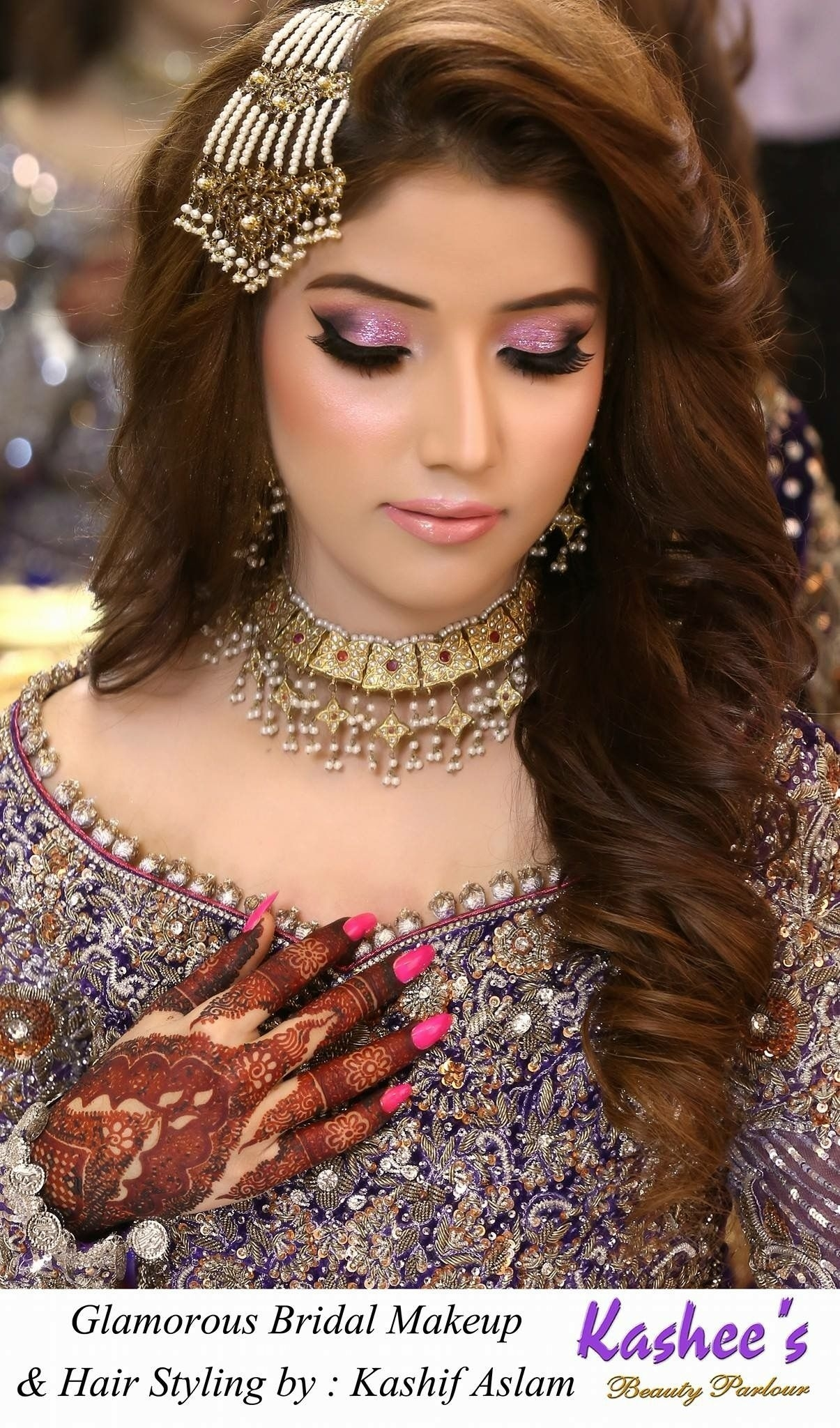 Pin By Imran Khan On Pakistani Bridal   Indian Hairstyles, Indian pertaining to Asian Bridal Hairstyles For Long Hair