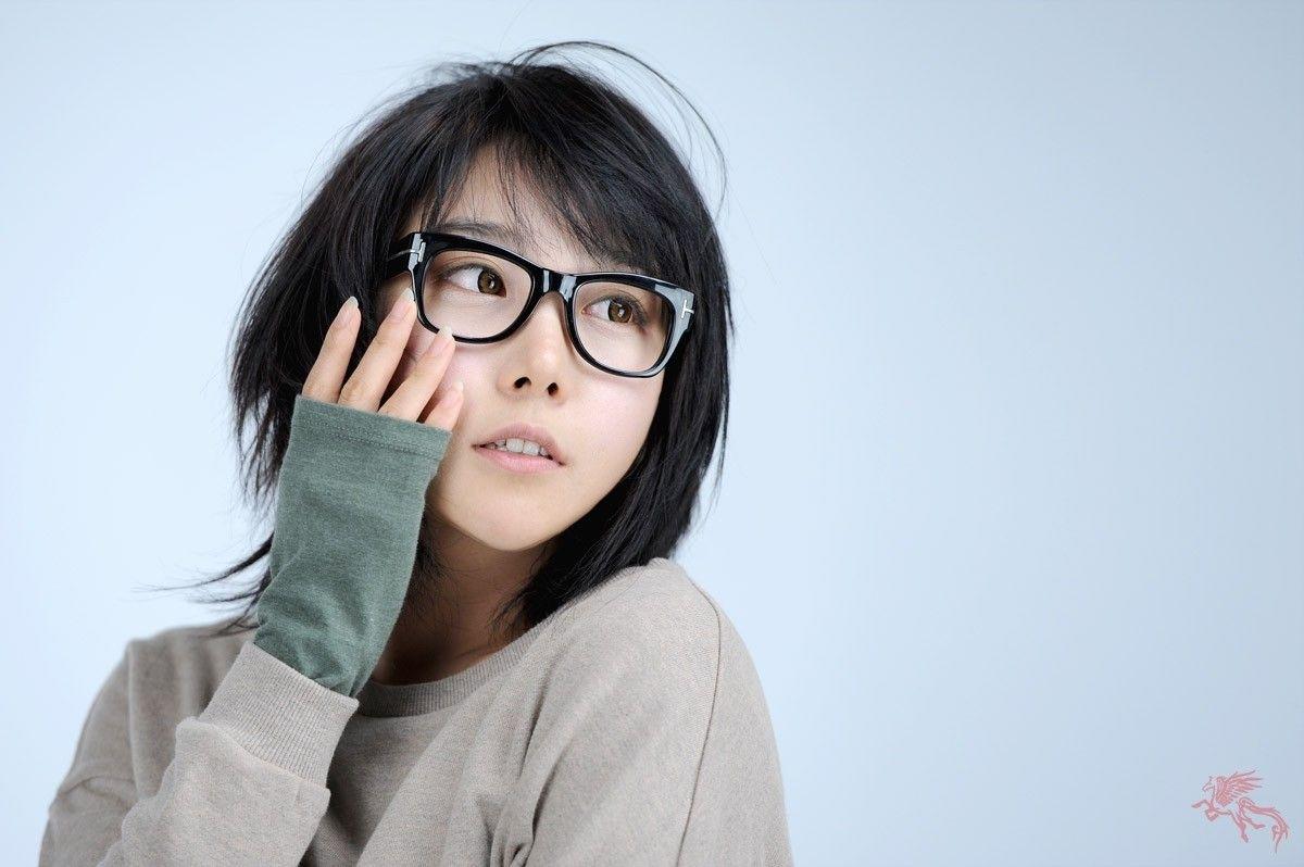 Pin By Peiyu Tsai On Glasses In 2019   Asian Short Hair, Short Hair with Asian Hairstyle With Glasses