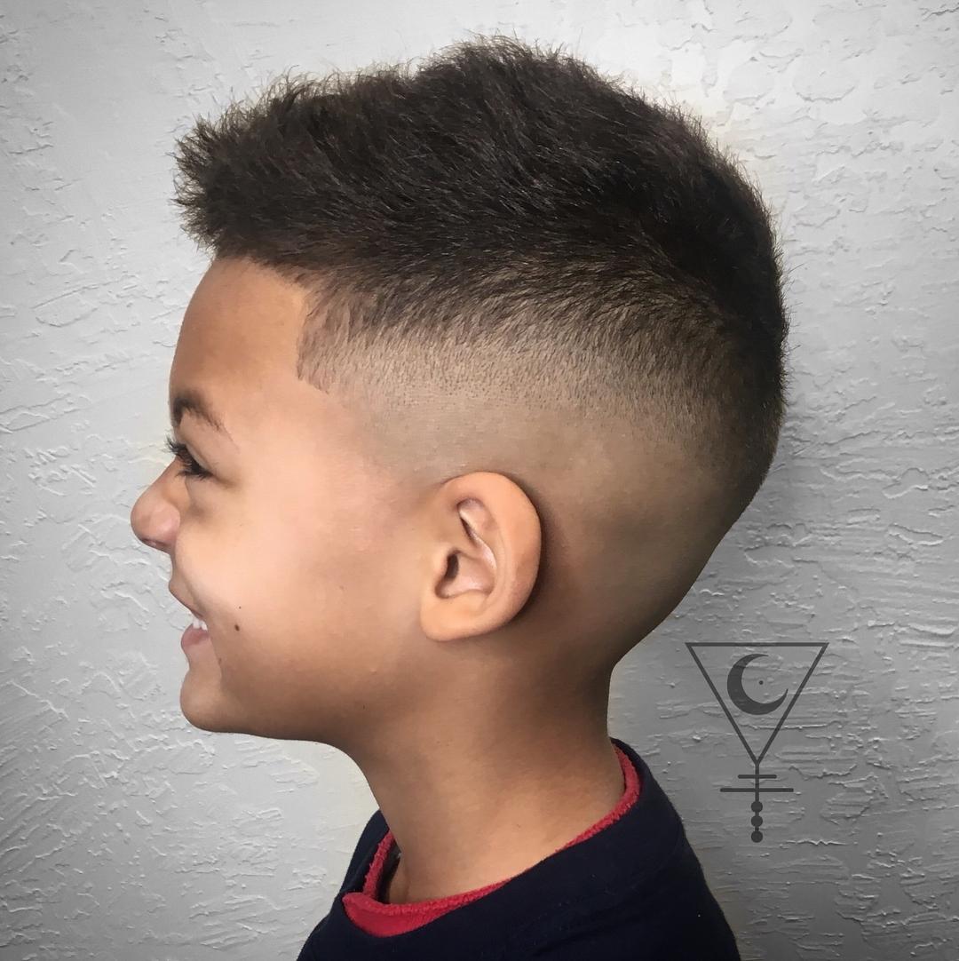 Popular Haircuts For Little Boys 2018 regarding Asian Baby Boy Hairstyles