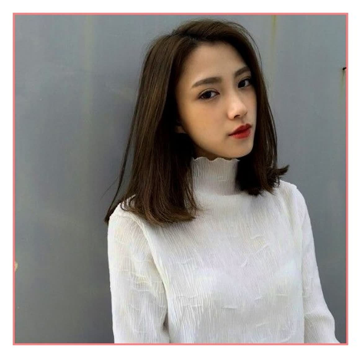 Short Haircuts 2017 Korean | Highlights Hair inside Asian Short Hairstyles Female 2017