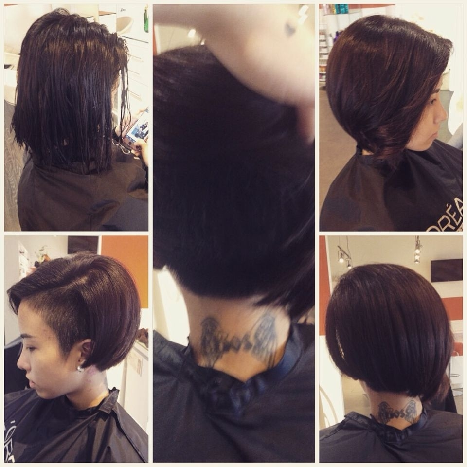 Sidecut Undercut On Thick Asian Hair By #nslh | Hair By #nslh In pertaining to Superb Asian Hairstyles Thick Hair