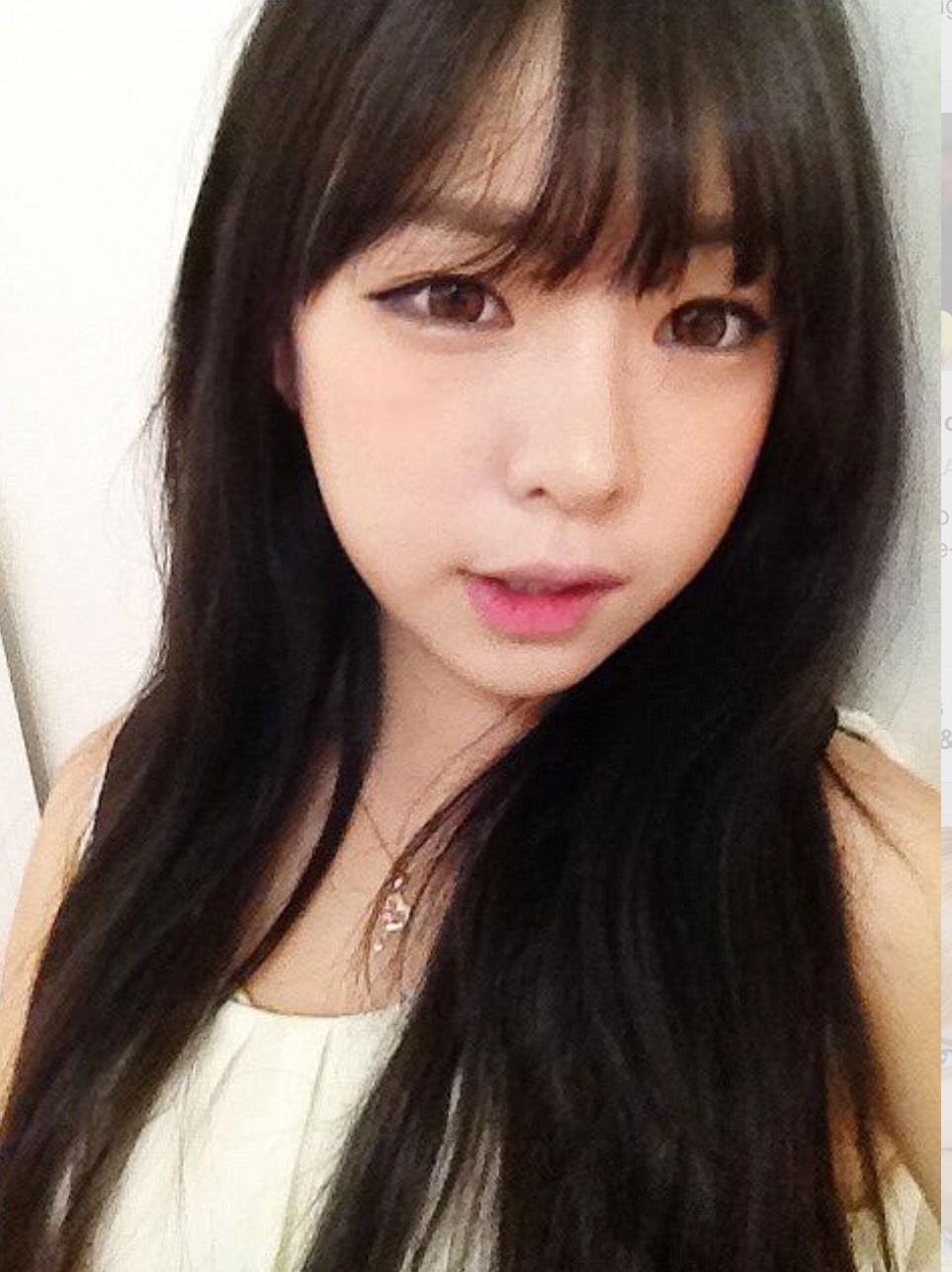 The Hairstyle To Try This Spring: Asian See Through Bangs♡   Beauty within Asian Bangs Hairstyle