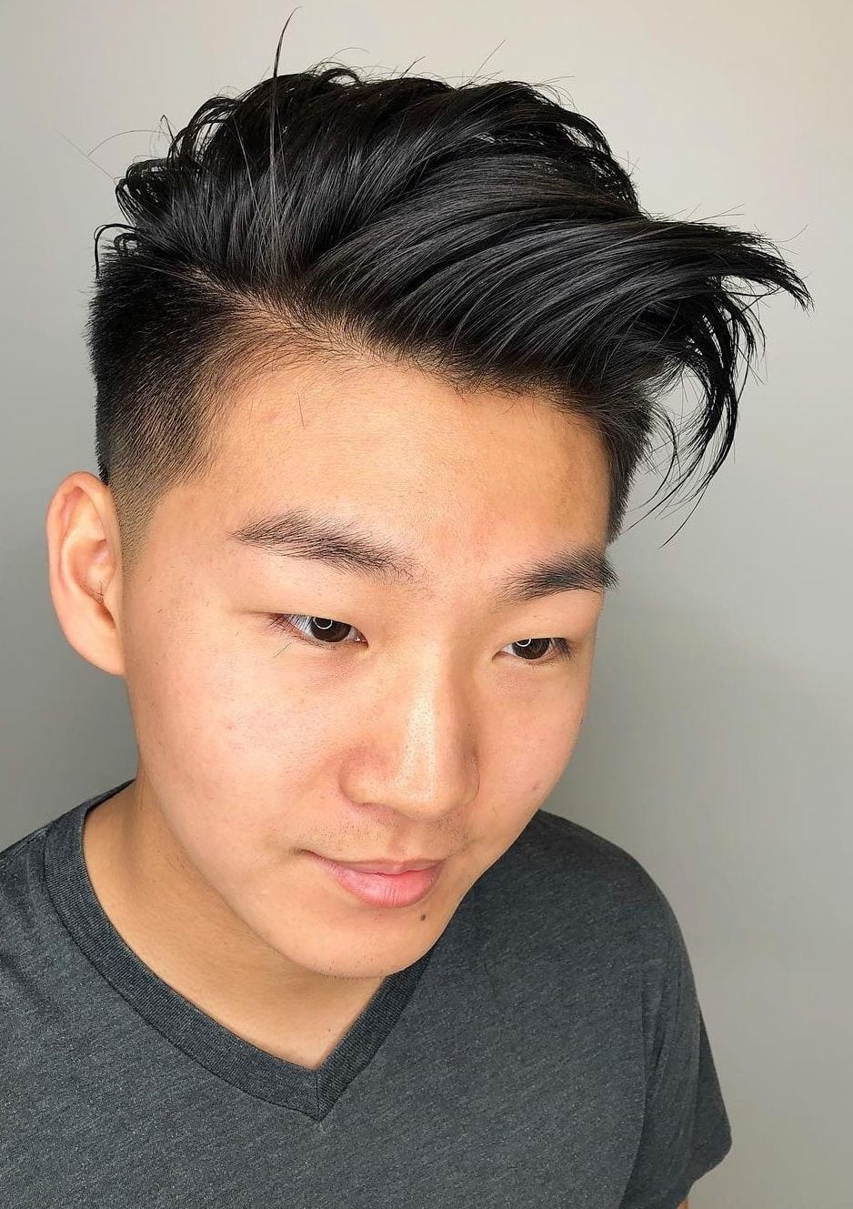 The greatest Teenage Asian Boy Hairstyles - Wavy Haircut