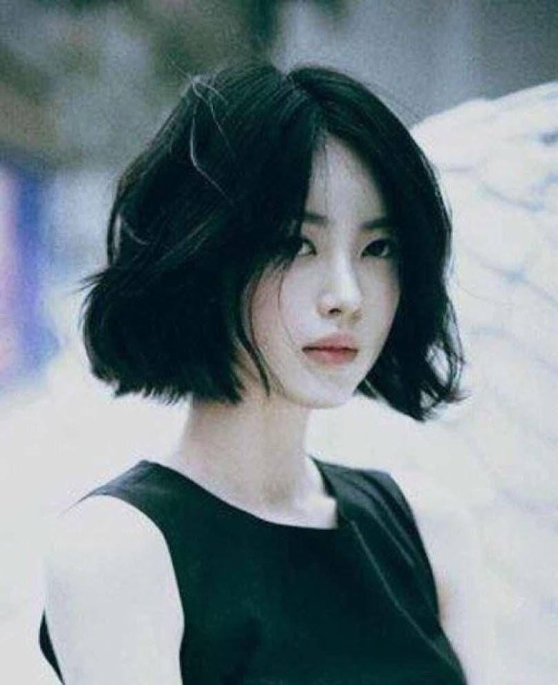 Top Short Hairstyle Korean   New Style In 2019   Korean Haircut inside Asian Short Hair With Bangs