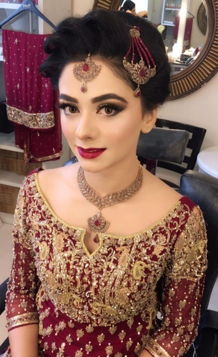 Trendy Pakistani Bridal Hairstyles 2018 - New Wedding Hairstyles Look in Asian Bridal Hairstyles 2018