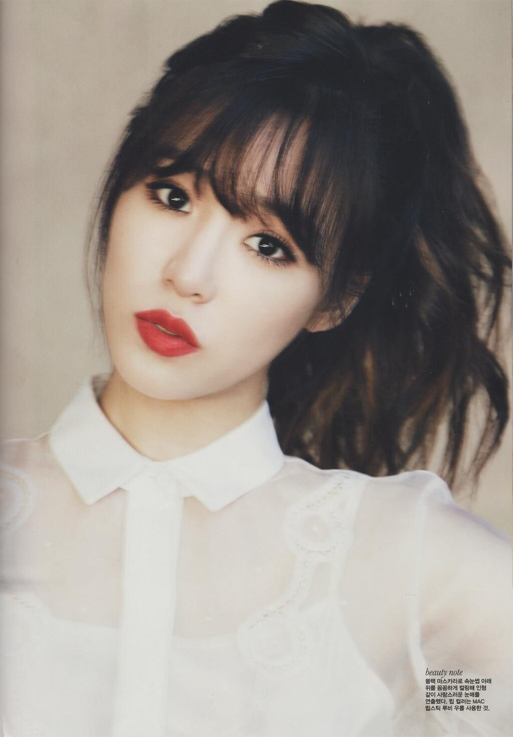 Women Hairstyle : Korean Hairstyle Fringe Outstanding See Through with regard to Asian Short Hair With Bangs