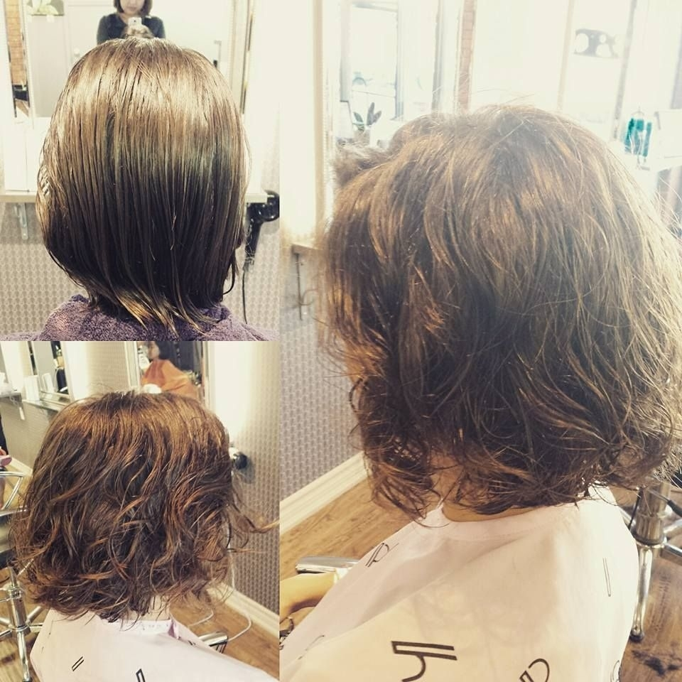 Yes, Digital Perm Also Works On Short Hair Too. | Hair In 2019 throughout Top-drawer Asian Short Perm Hairstyles