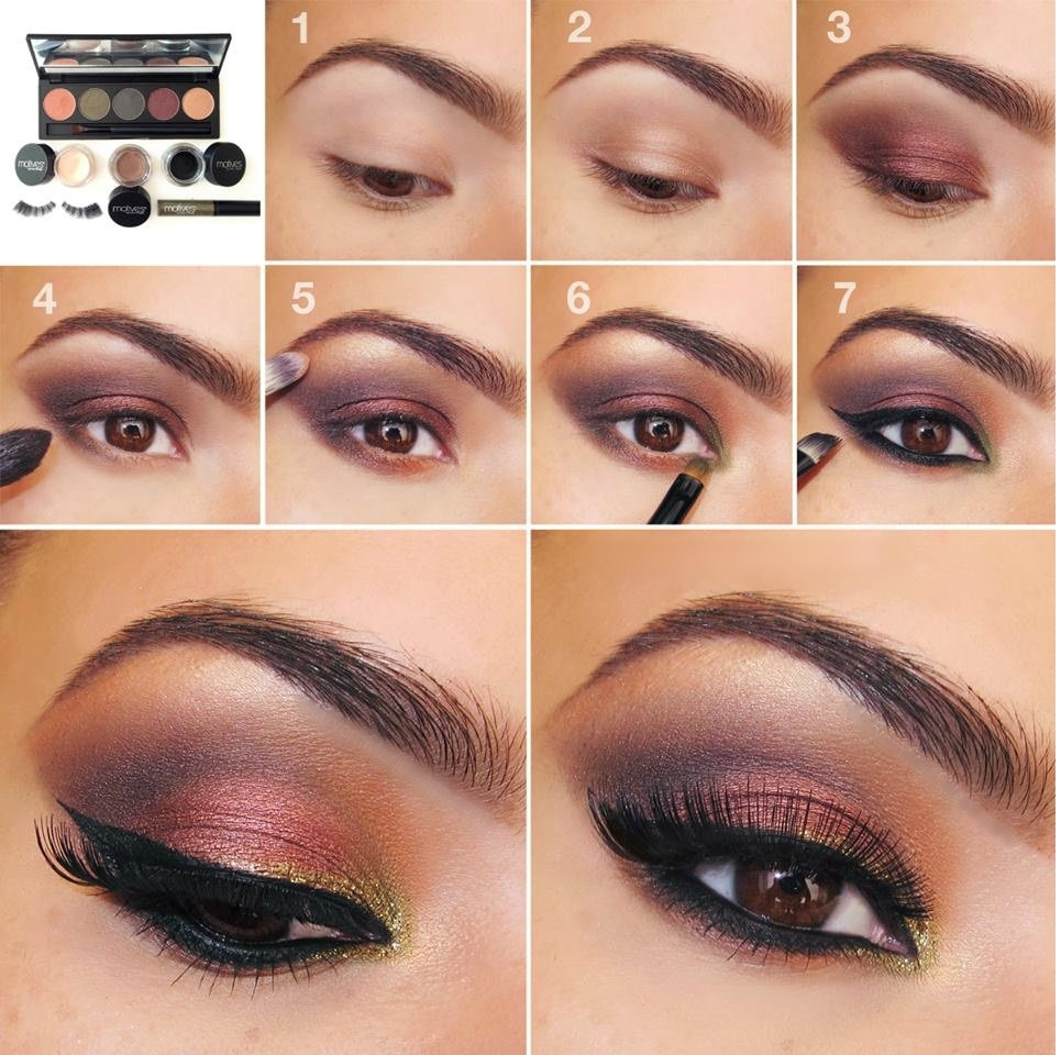 20 Simple Easy Step By Step Eyeshadow Tutorials For pertaining to Eye Makeup Step By Step Instructions With Pictures