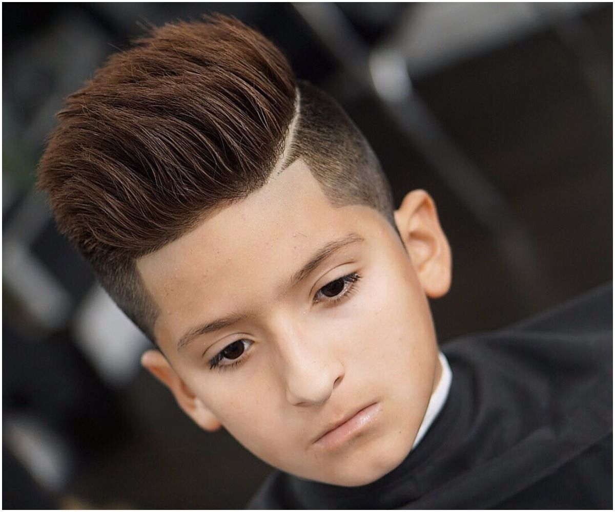 Boy Hairstyle For New - Wavy Haircut