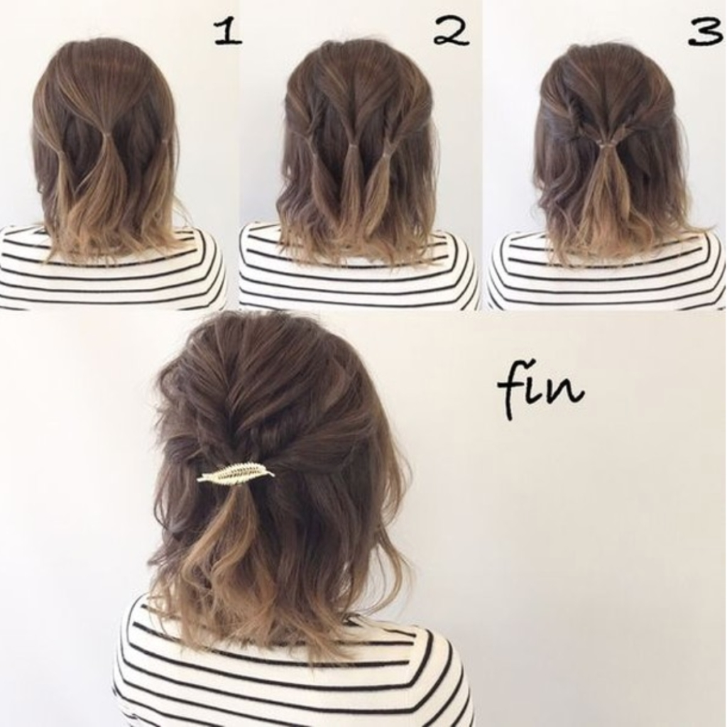 30+ Easy Half-Up Hairstyles That'll Only Take Minutes To inside Easy Half Up Hair Stules Thin Hair
