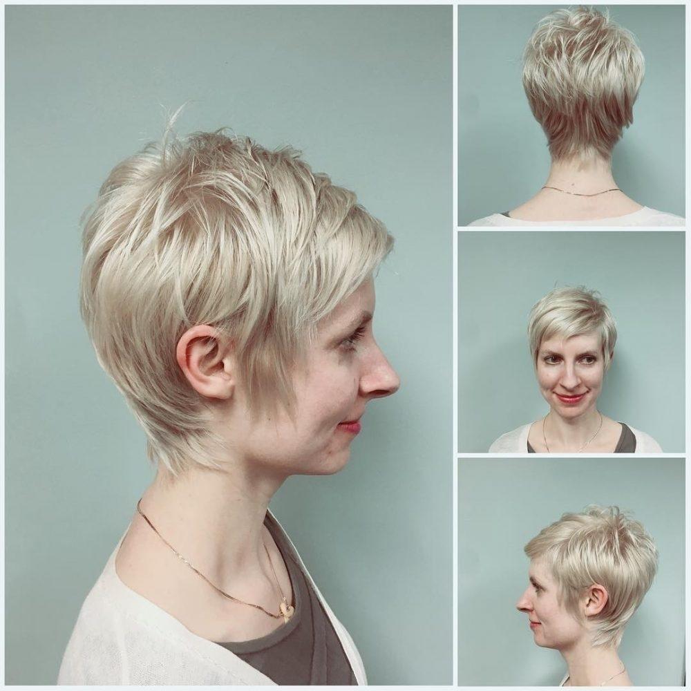 Short Crown Cut For Thinning Hair   Wavy Haircut