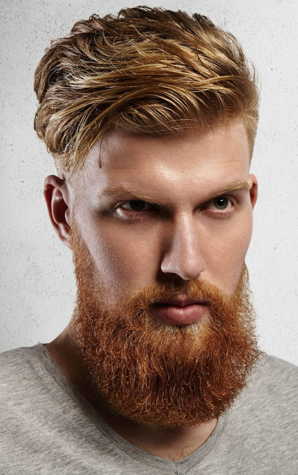 Hairstyles For Ginger Men Wavy Haircut