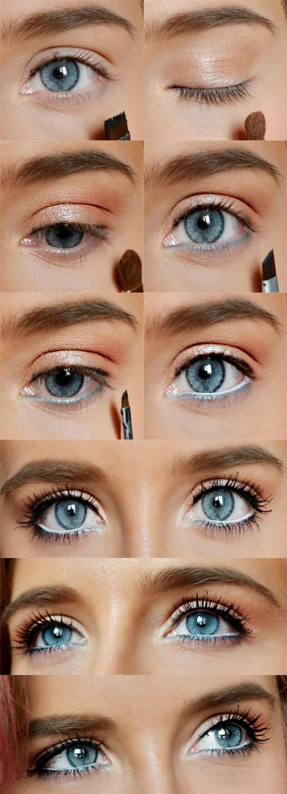5 Ways To Make Blue Eyes Pop With Proper Eye Makeup - Her pertaining to Natural Makeup Tutorial For Blue Eyes