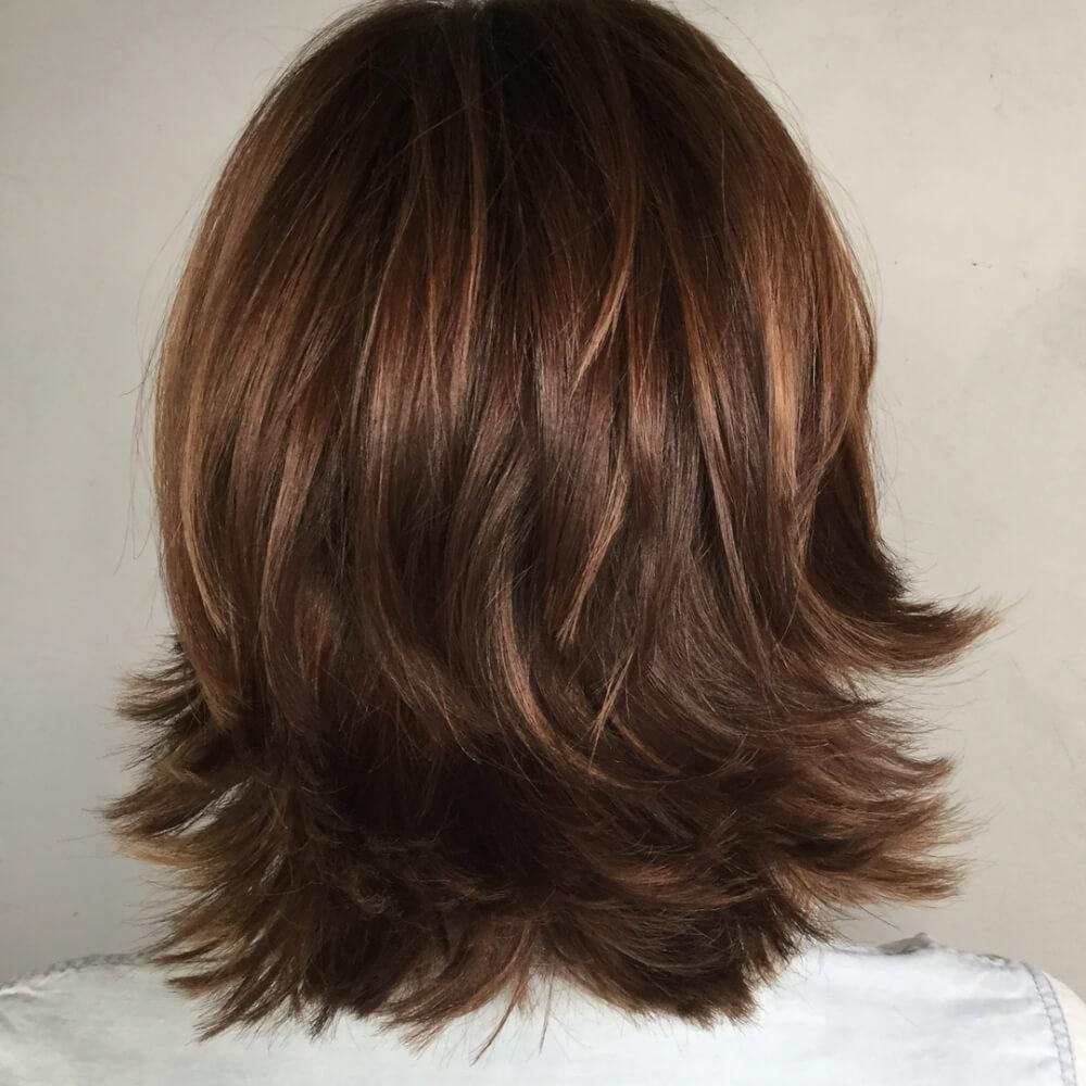 Medium Length Flippy Hairstyles Archives Wavy Haircut