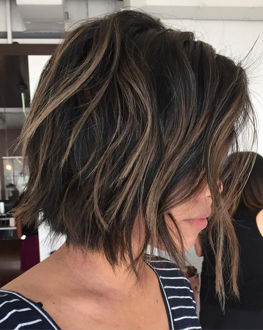 70 Cute And Easy-To-Style Short Layered Hairstyles | Beauty with regard to Cute Chocolate Brown Bob Haircut