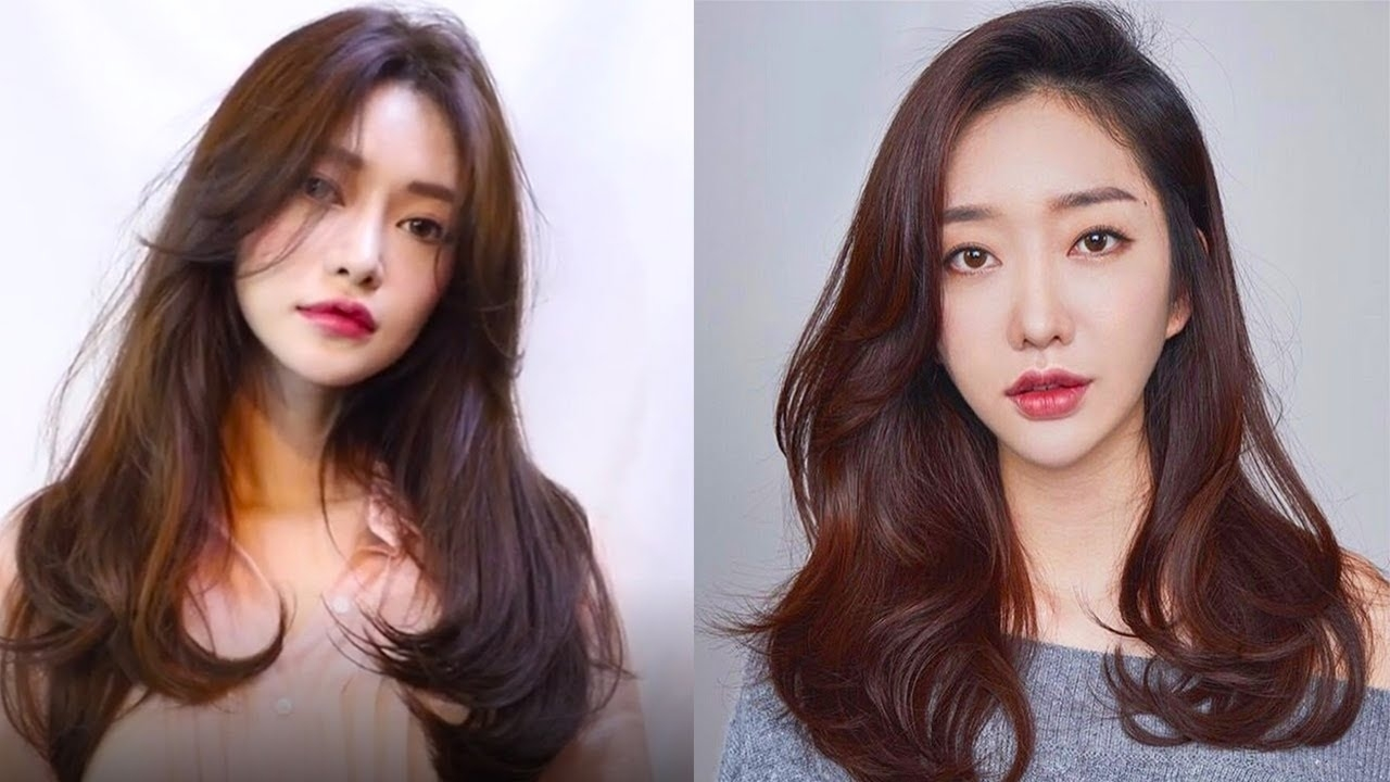 8 Beautiful Korean Hairstyles 2019 😂 Easy Cute Hair Ideas Compilation 😂  Hair Beauty Tutorials pertaining to Easy Hairstyles For Asian Hair