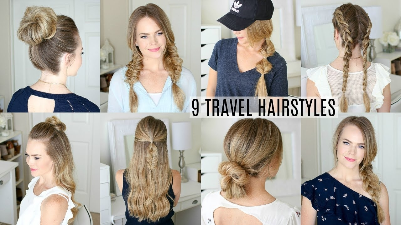 9 Easy Travel Hairstyles | Missy Sue in Best Hairstyles For Travelling