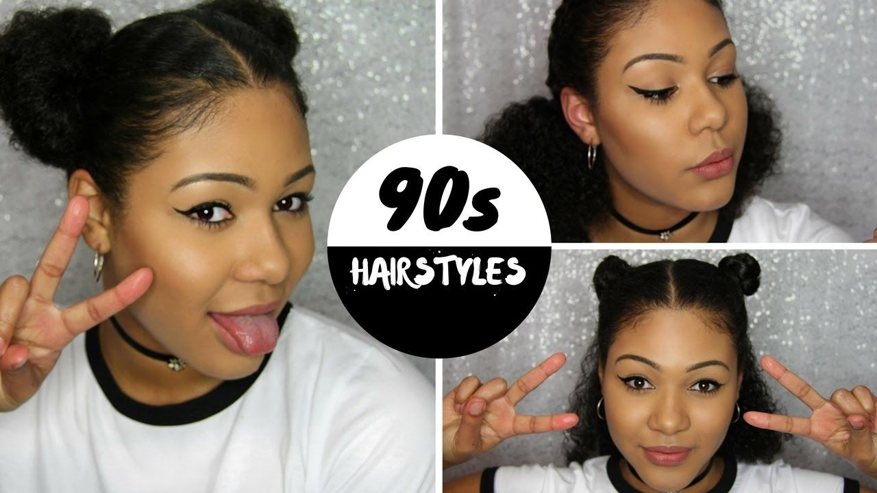 90S Hairstyles For Black Women   Wavy Haircut