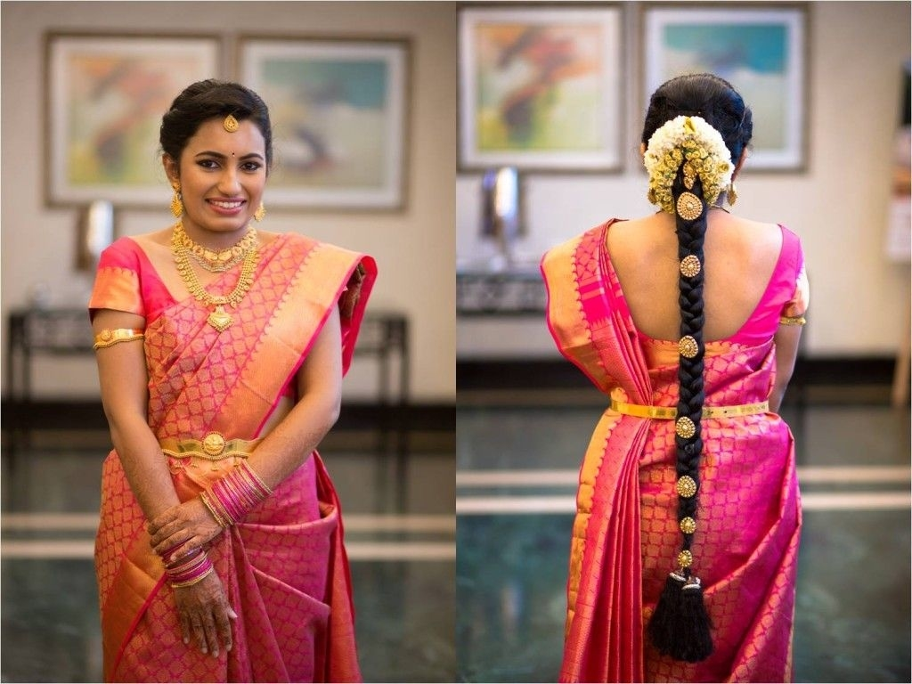 An Immaculately Detailed Wedding Story! | Bride In 2019 within South Indian Engagement Hairstyle