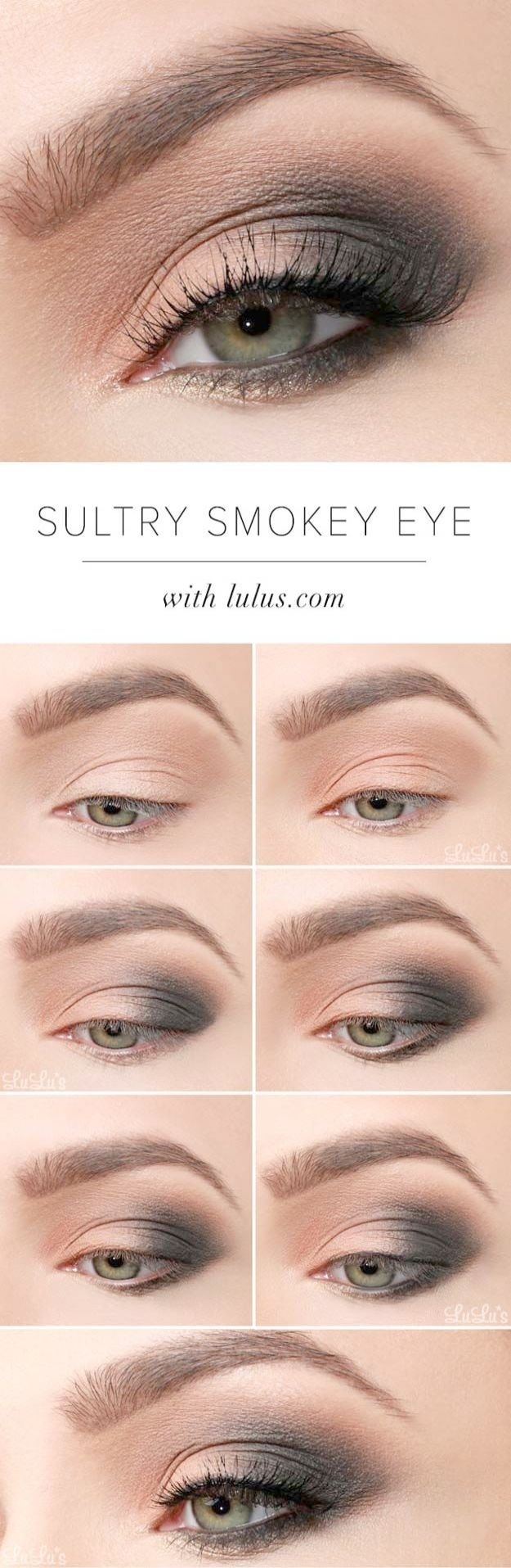 Awesome Smokey Eye Makeup For Blue Eyes Red Hair pertaining to Good Eyeshadow Colors For Blue Eyes And Red Hair