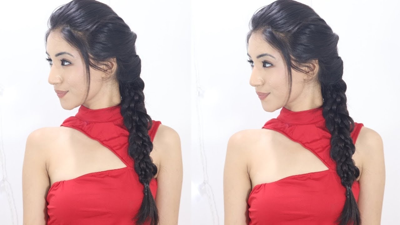 Braid Hairstyle For Indian School & College Girls | School Braid Hairstyle intended for Indian Hairstyle For School Girl