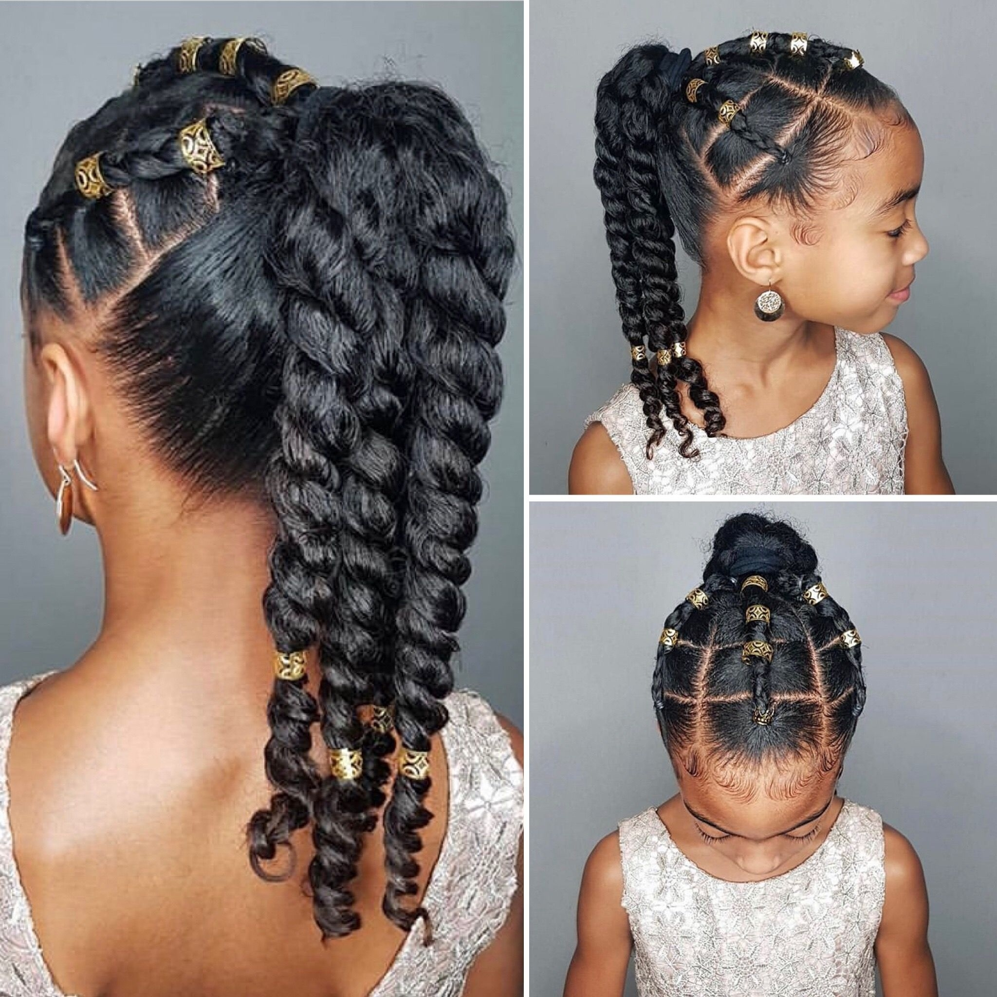 Ριитєяєѕт @eurodolls | Grand Babies Hairstyles In 2019 in Everyday School Hairstyles For Mixed Race Hair