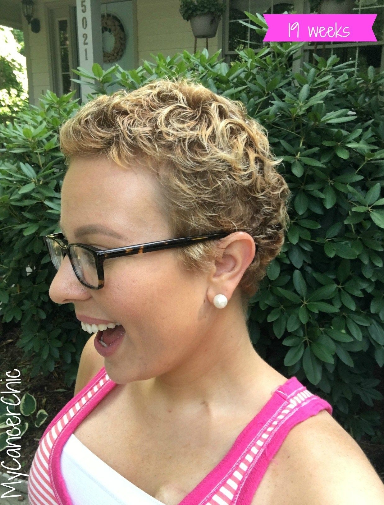 Fashionable Hairstyles For Post Chemo Curly Hair - Wavy ...