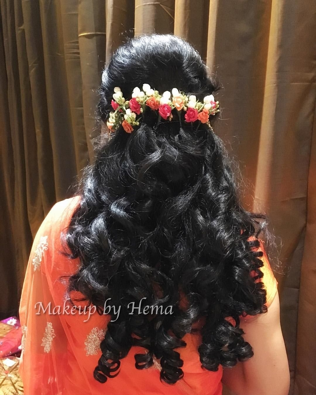 Curly Hair Styles. Indian Wedding Hairstyles. Indian Wedding regarding Indian Bridal Curly Hairstyles