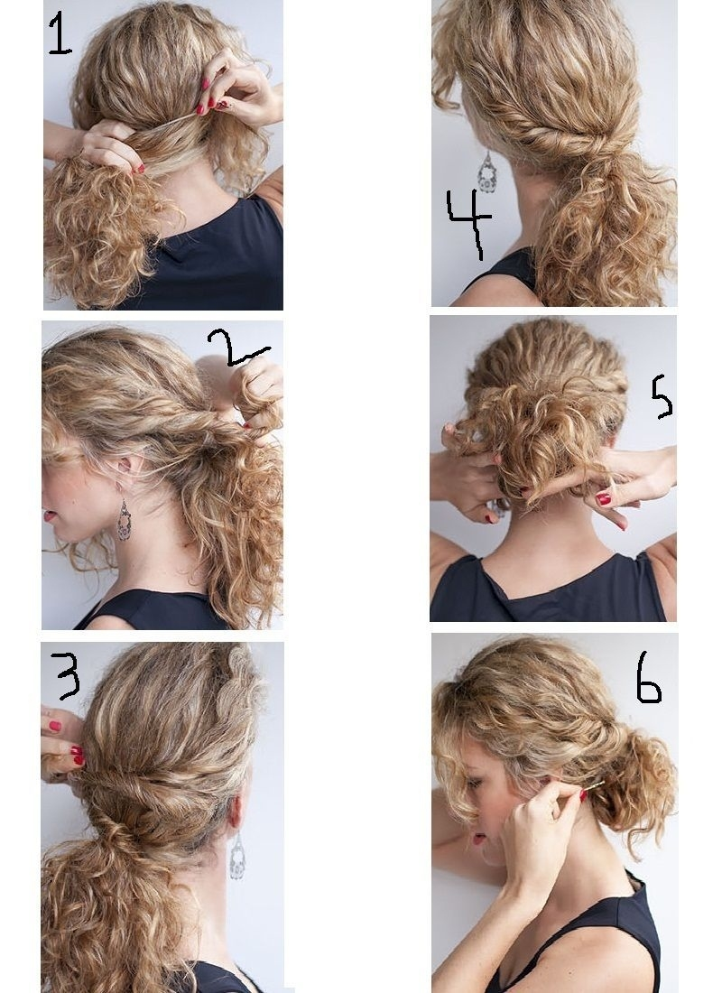 Step By Step Easy Curly Hairstyles - Wavy Haircut