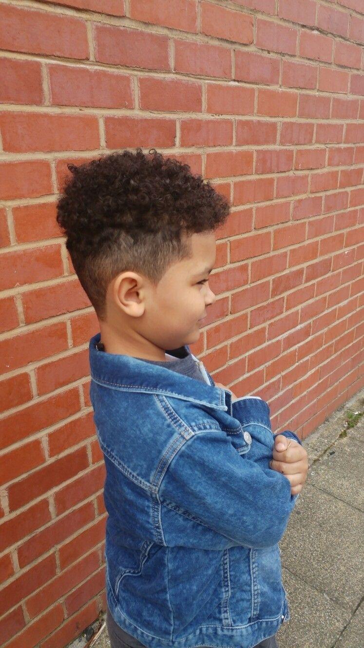 Baby Boy Mixed Race Curls
