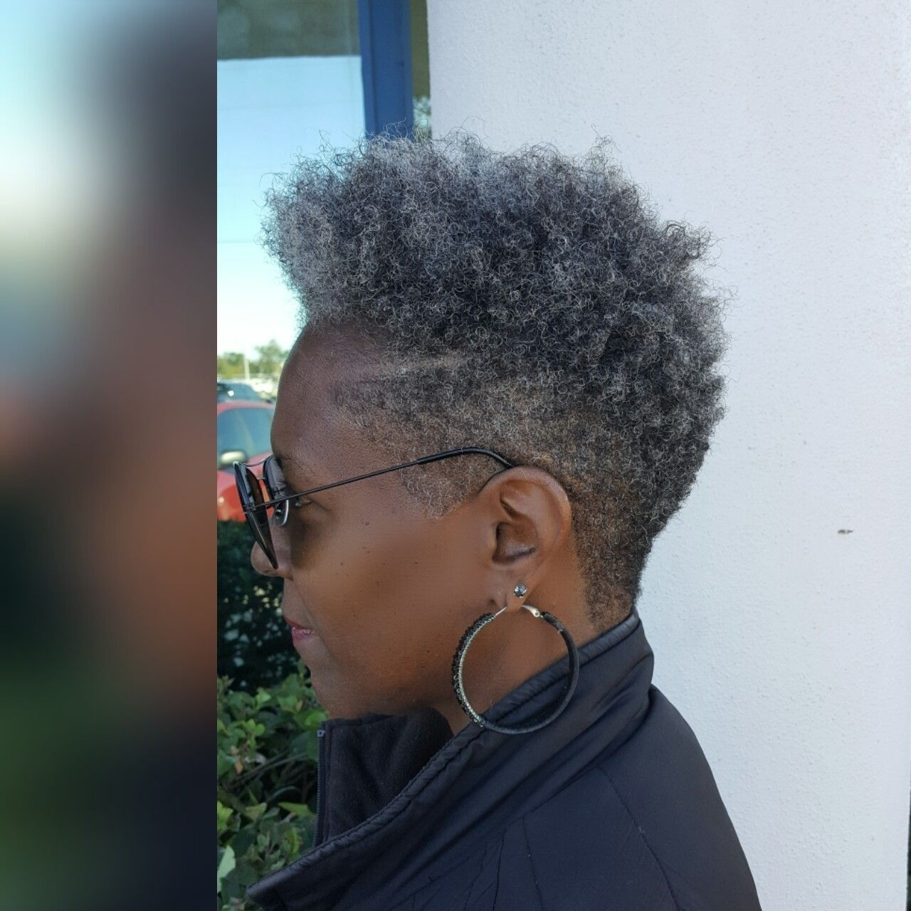 Favorite Hair Style | Hairstyles In 2019 | Natural Hair within Fade Haircuts Silver Hair On African American Women