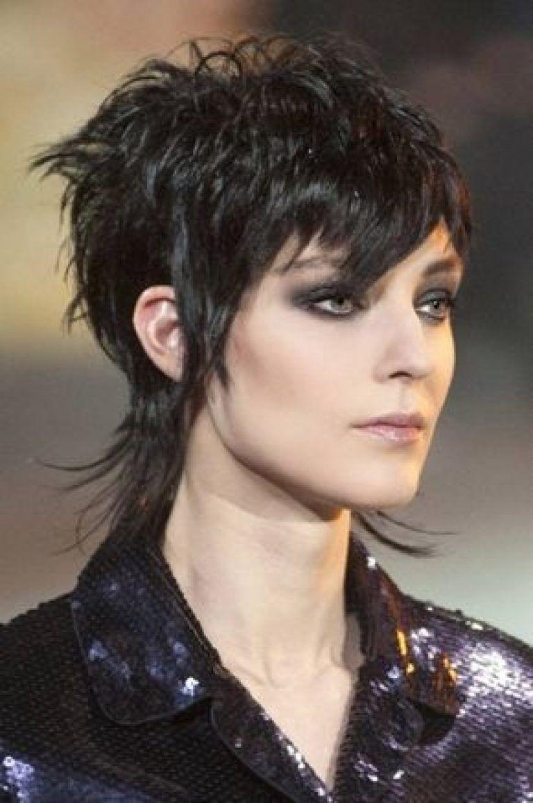 Female Mullet On Pinterest Wavy Haircut