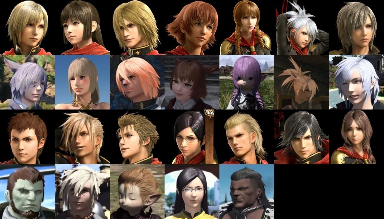 Final Fantasy Xiv Forum regarding Final Fantasy 14 Hairstyles