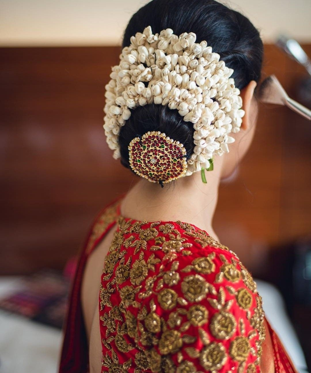 South Indian Wedding Bridal Hairstyles: South Indian Bridal Hairstyle Ideas