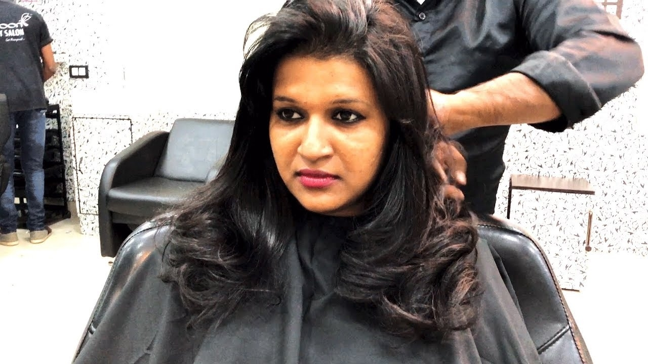 Haircut For Girls (Layer Cut) | Hair Styling | Cocoon Salon within Upload Photo See How To Cut Hair Best
