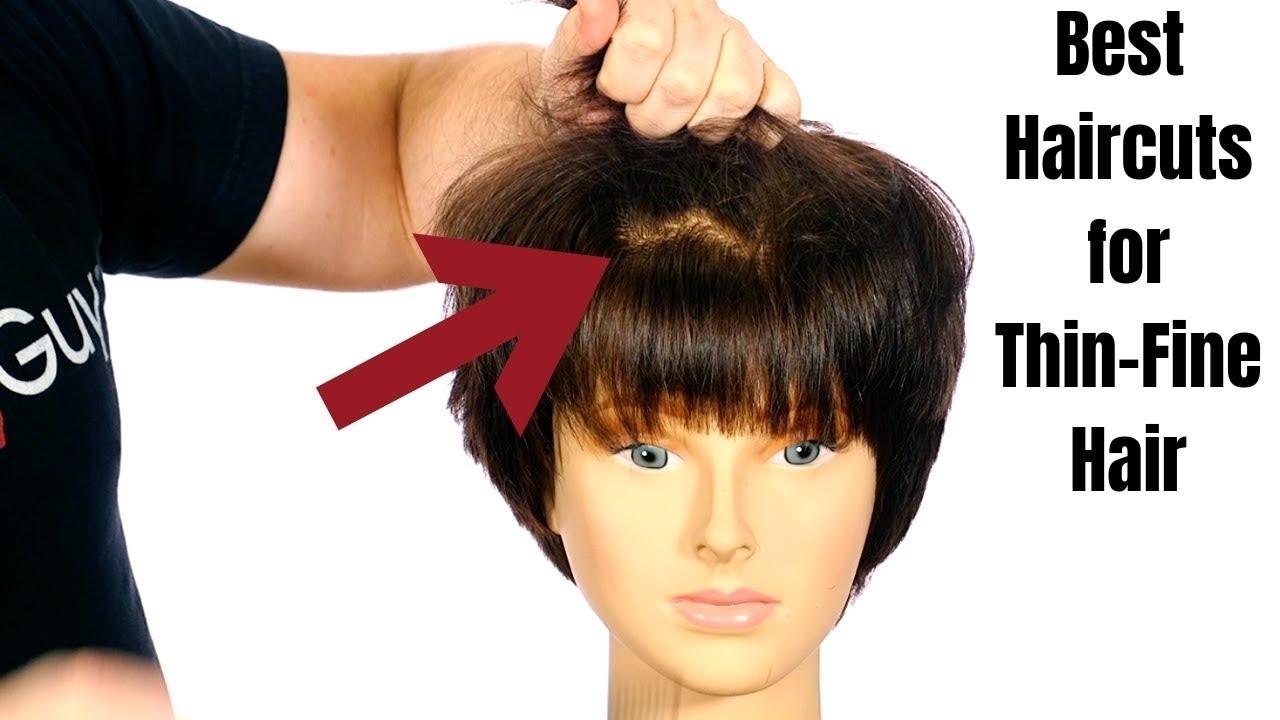 Best Haircuts For Really Fine Hair - Wavy Haircut
