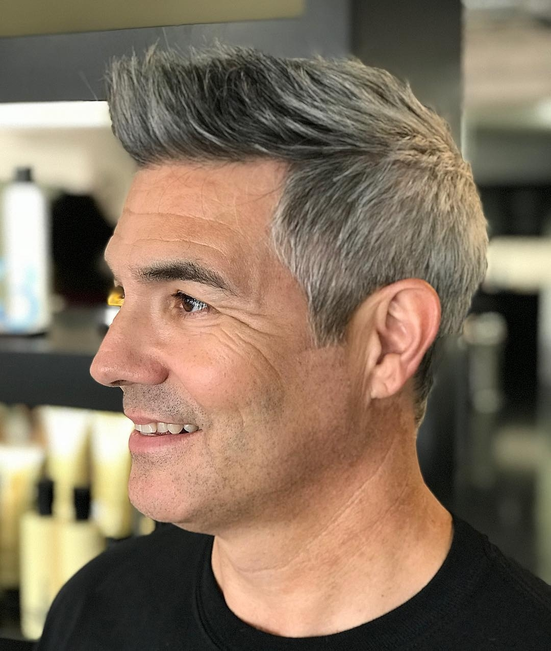 Male Hair Cuts 60 Year Old Wavy Haircut