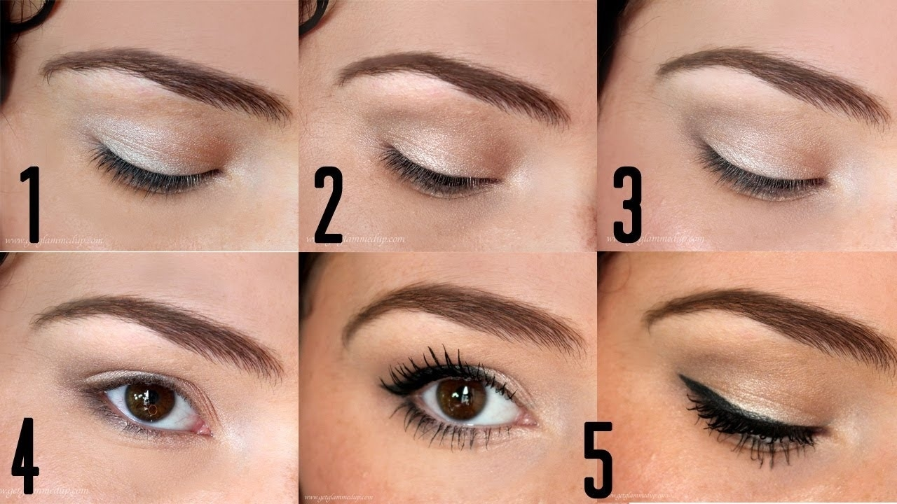 How To Apply Eyeshadow For Beginners | Back To Basics with Applying Eye Makeup Pictures Step By Step