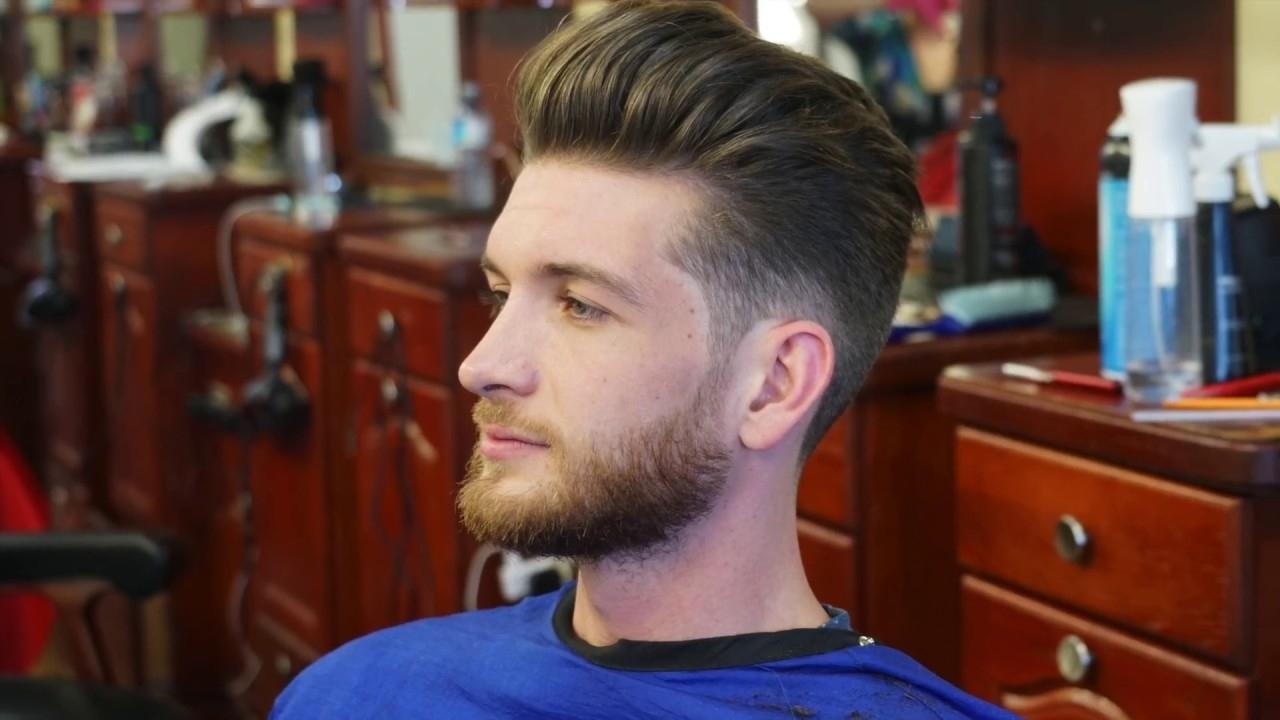 Mens Finger Drying Hairstyles Wavy Haircut