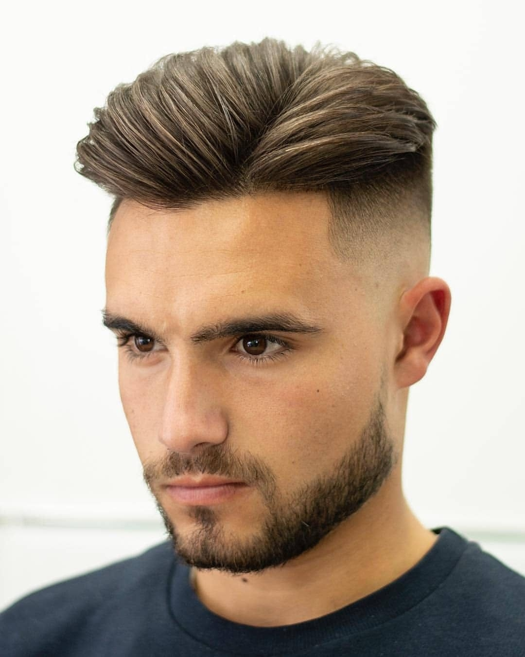 How To Get The Perfect Side Parting: 19 Best Side Part regarding Centre Parting Fade Haircut For Men