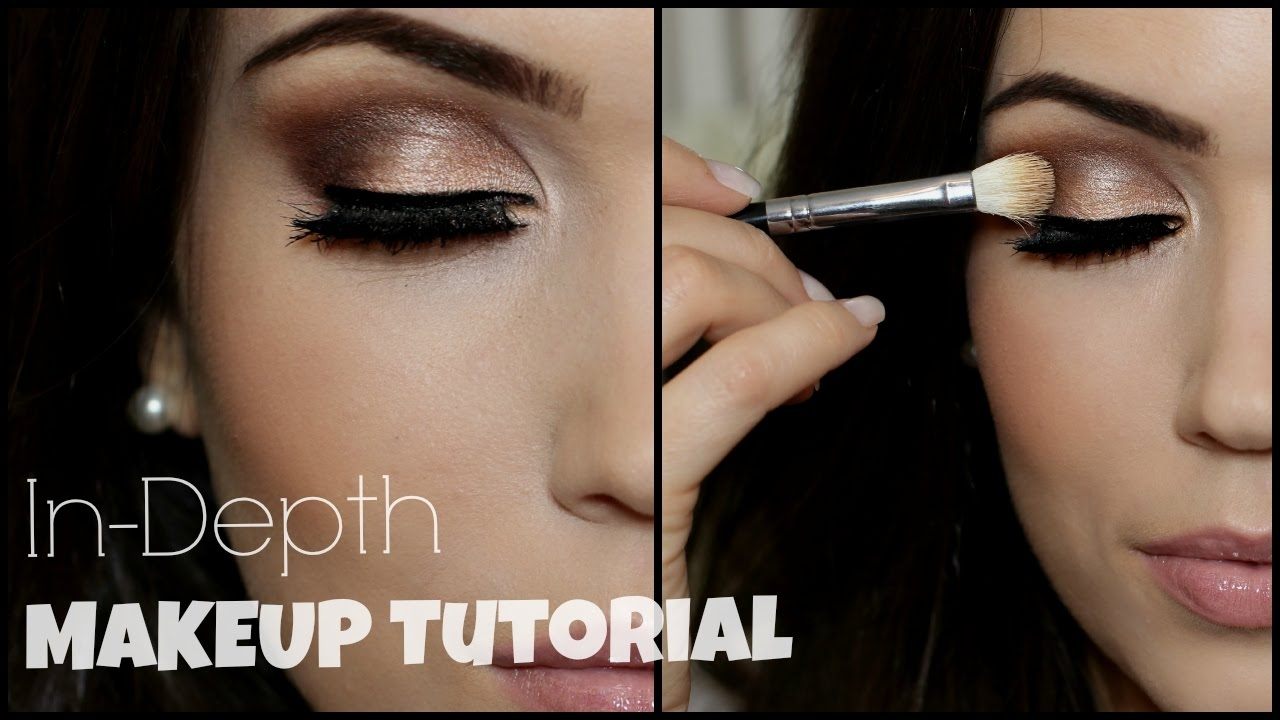 In-Depth Eye Makeup Tutorial | Irish Beauty Collab in How To Apply Eye Makeup Step By Step Video