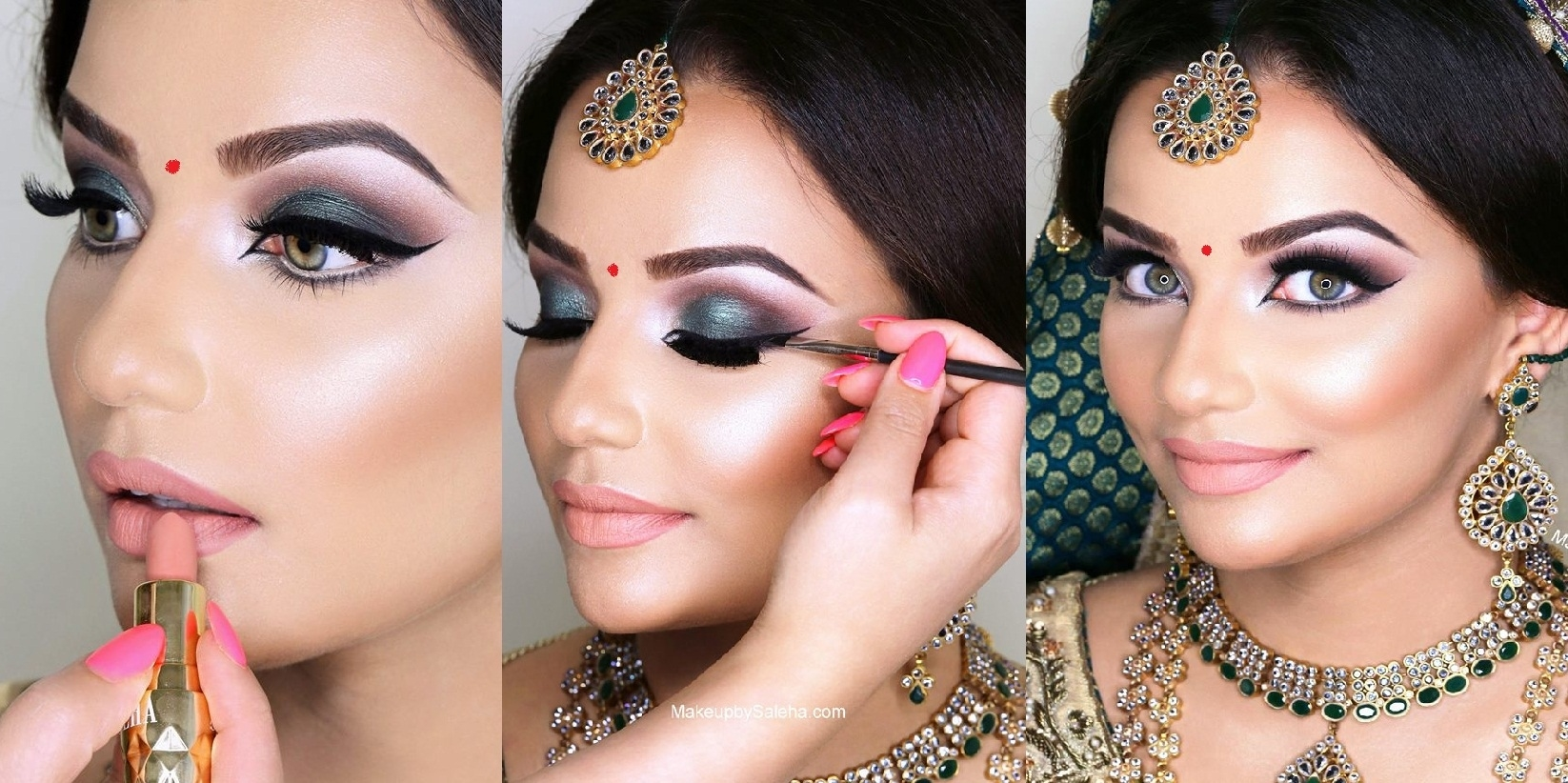 Indian Bridal Wedding Makeup Step By Step Tutorial 2019 With inside Indian Bridal Makeup Step By Step Pictures