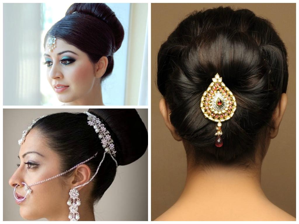 Indian Wedding Hairstyle Ideas For Medium Length Hair in Easy Indian Bridal Hairstyles For Medium Hair