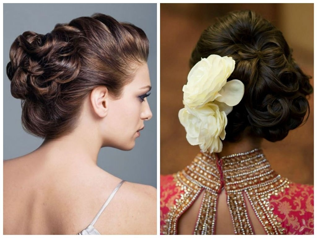 Indian Wedding Hairstyles For Short Hair - Google Search throughout Indian Bridal Hairstyle For Short Hair