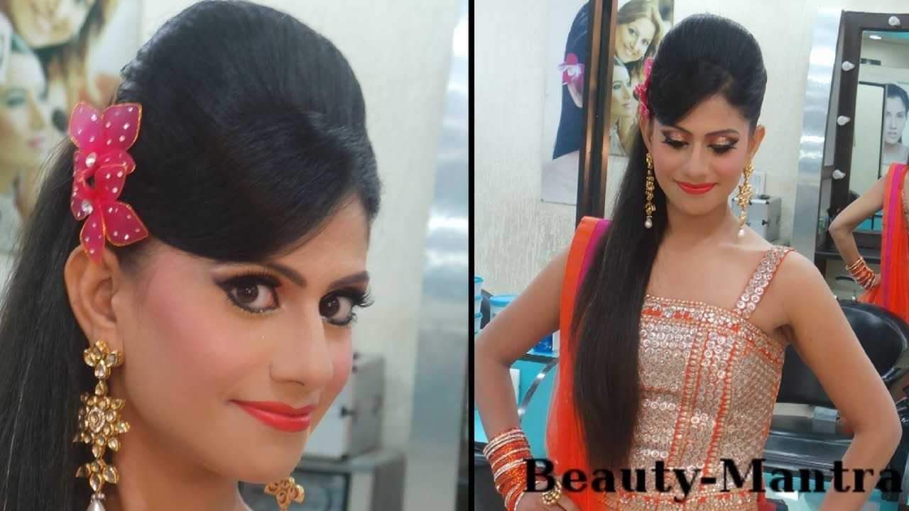 Indian Wedding Makeup - Vibrant Engagement Look - Complete Hair And Makeup within Indian Engagement Hair And Makeup