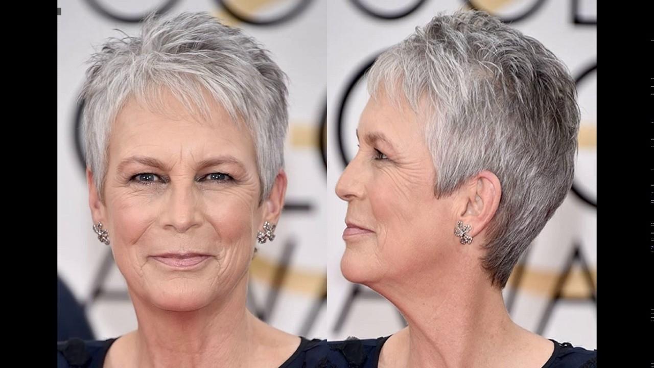Jamie Lee Curtis Short Haircut Style in Jamie Lee Curtis Hair Cut